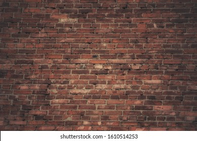 Background photo of a brown brick wall