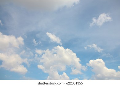 Background photo of sky and cloud