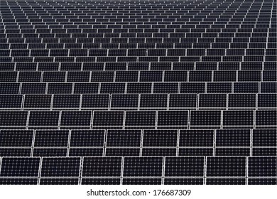 background of photovoltaic panels for renewable energy production