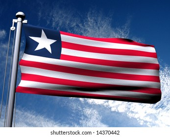 Background picture of country flag.