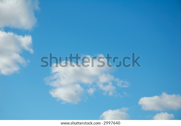 background of picturesque clouds