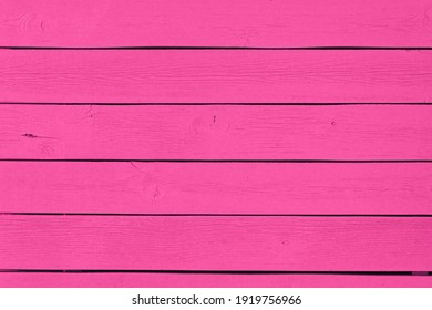 background of pink color texture wooden planks