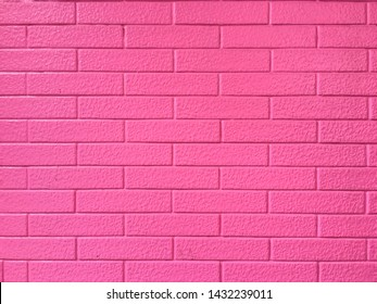The background of the pink wall, beautiful grid pattern