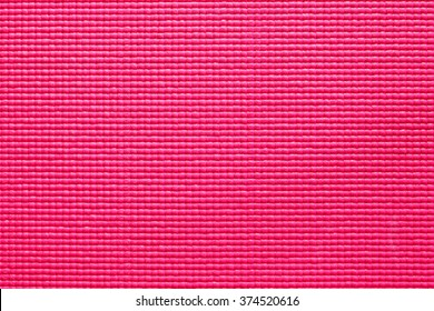 background of pink yoga mat