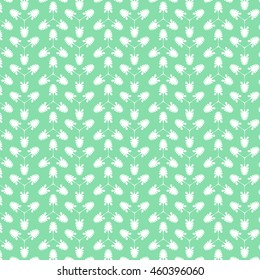 Background with plants. For print. Scrapbook paper.