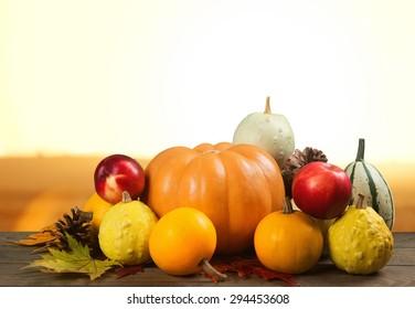 Background, pumpkin, squash.