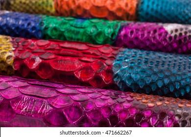 Background python snakeskin, pattern, leather, texture