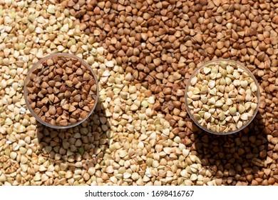 background-raw-fried-buckwheat-260nw-169