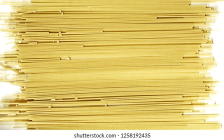 background with raw pasta
