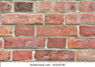 Background of a Red Brick Wall