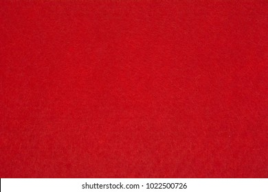 Background of red felt