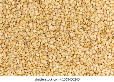 background of roasted sesame seeds