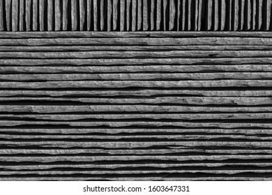 Background roofing slate stones stack in profile close up