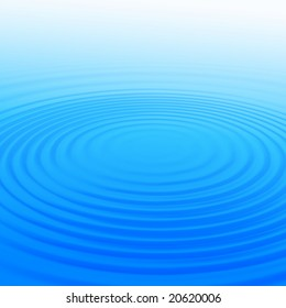 background with round light blue wave