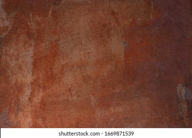 Background with rust, brown rusty iron texture.