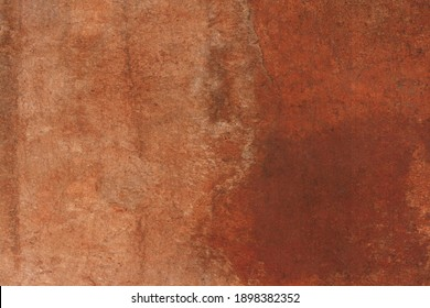Background with rust, brown rusty iron texture.Old wall paer.
