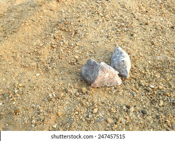 Background. Sand and stones