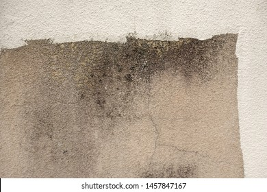 Background scene of an old exterior wall