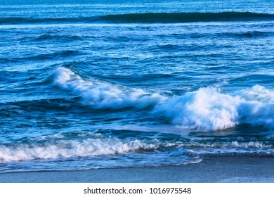 Background sea with waves