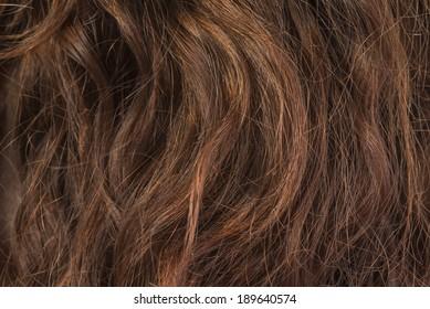 Background series : Damaged hair