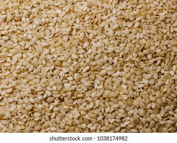 background of sesame seeds