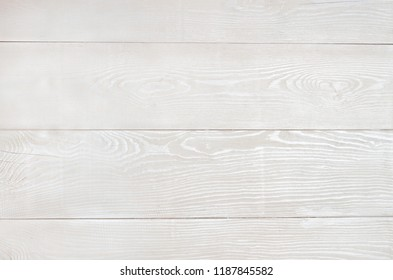 Background of several wooden boards painted with white paint. The texture of the wood is visible through the paint.