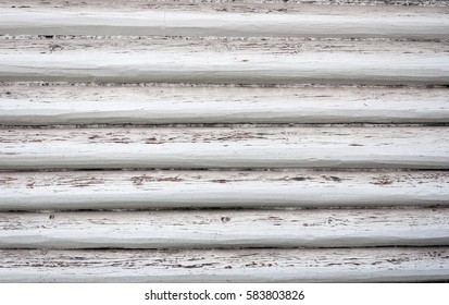 Background of shabby painted wooden plank