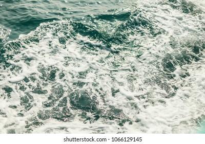 Background shot of aqua sea water surface