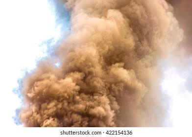 background smoke