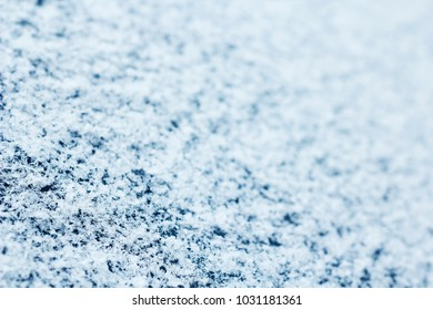 background of a snow-covered surface