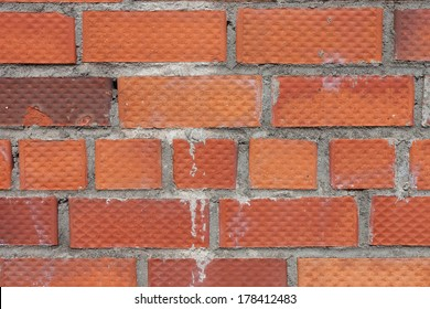 Background of square brick wall texture