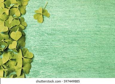 . Background for St. Patrick's Day celebration