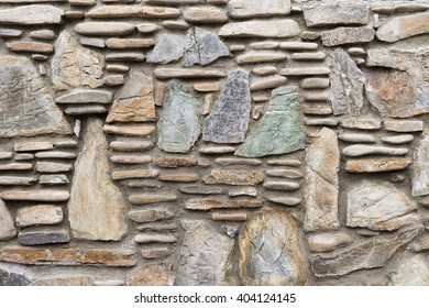 Background. A stone wall