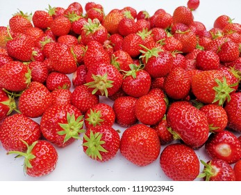 Background of strawberies