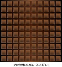 The background in the style of a chocolate bar