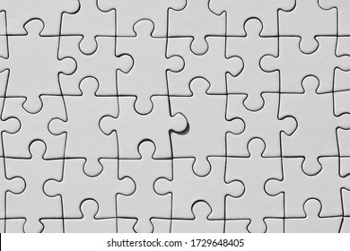 Background from a successful solution to a white puzzle. Top view
