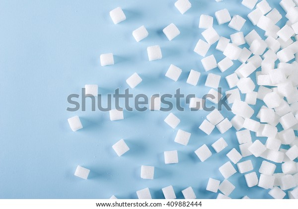 糖立方體的背景