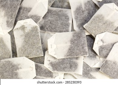 background of the tea bags