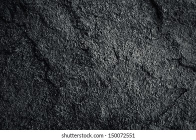 background texture of black rock