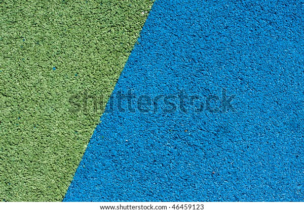 Background Texture Blue Green Crumb Rubber Stock Photo (Edit Now