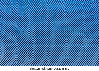 Background texture of blue and white plastic tarp