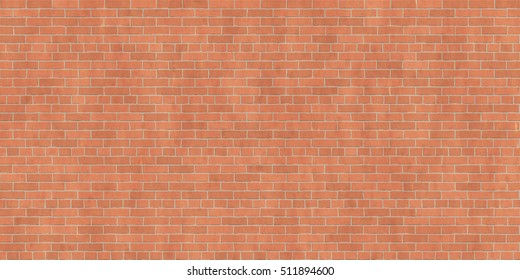 Background texture of brown brick wall, common bond