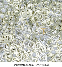 Background texture of can ring