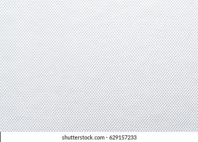 background and texture of cotton fabric of bright white color