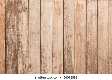 background and texture of decorative old wood striped on surface wall