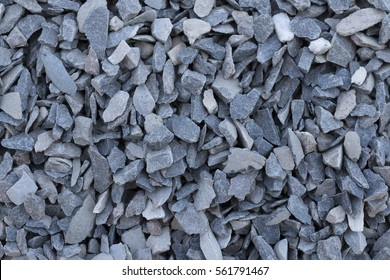 Background, texture of gravel, rocky rubble