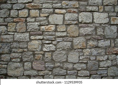 background texture gray beige stone  basalt sturdy wall  floor