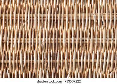 Background texture of handmade,wicker