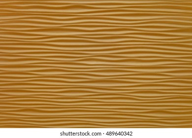 Background Texture, Horizontal Brown Wooden Waves Pattern with Copy Space for Text Decorated.