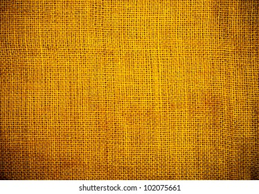 Background and texture of  jute canvas
